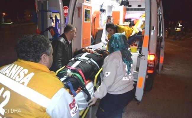 Uşak Kula Yolunda Trafik Kazası! 1'i Ağır 3 Yaralı