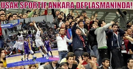 Uşak Sportif Ankara'da Galibiyet Arıyor!