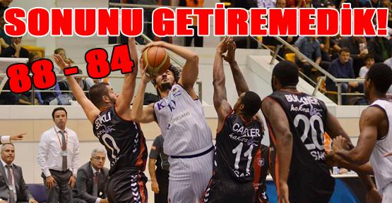 Uşak Sportif Ankara'dan Mağlup Döndü!