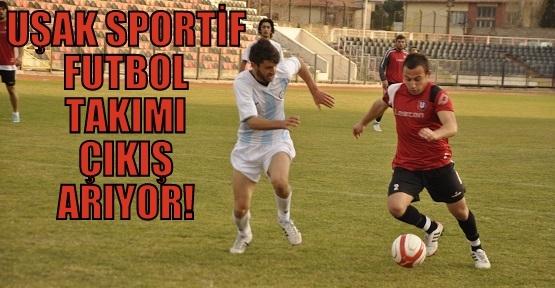 Uşak Sportif Futbolda Zor Günler Geçiriyor!