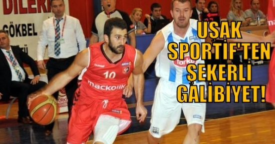 Uşak Sportif, Konya'da Farklı Kazandı!