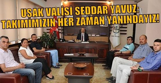 Uşak Sportif Yönetiminden Vali Yavuz'a Ziyaret!