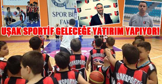 Uşak Sportif'in Altyapısı Emin Ellerde!