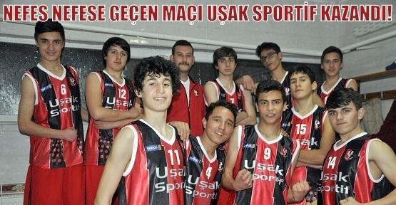 Uşak Sportif'in Gençleri Abilerinin İzinde!