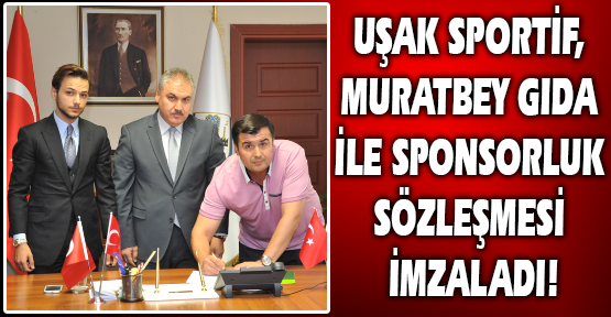 Uşak Sportif'in İsim Sponsoru Yine Muratbey Oldu!