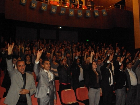 Uşak Ülkü Ocakları ''Bozkurtlar Diriliyor'' Gecesi Düzenledi