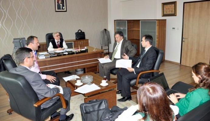 Uşak Üniversitesi Kurum İdari Kurul Toplantısı Yapıldı