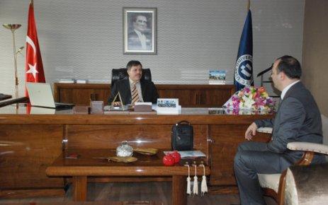 Uşak Üniversitesi Yeni Rektörü Prof. Dr. Sait Çelik'e Ziyaretler Devam Ediyor