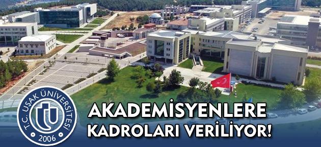 Uşak Üniversitesi'nde 46 akademisyen, hak ettiği kadroya nihayet kavuşuyor!