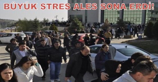 Uşak Üniversitesi'nde ALES Heyecanı!