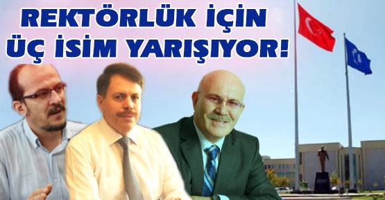 Uşak Üniversitesi'nde Rektörlüğe Üç Aday!