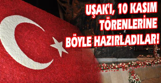 50 Bin Karanfille Dev Türk Bayrağı Yaptılar!