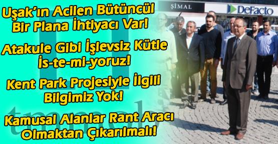 Uşaklı Mimarlardan Uşak Belediyesi'ne ve Kamu Kurumlarına Veryansın!