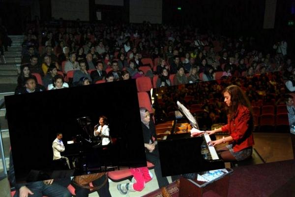 Uşaklı Piyanist Erman Karakaya ve Genç Yetenekler Mest Etti!