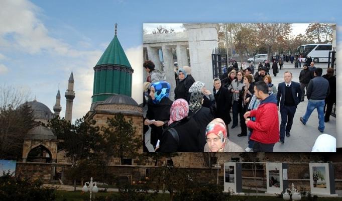 Uşaklılar Konya'da Şeb-i Arus Törenlerine Katıldı!