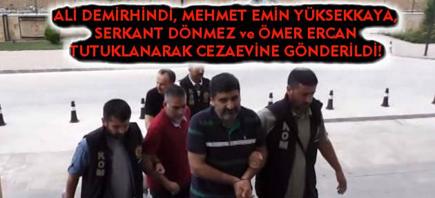 Uşak'ta 1 doçent ve 2 iş adamı tutuklandı!