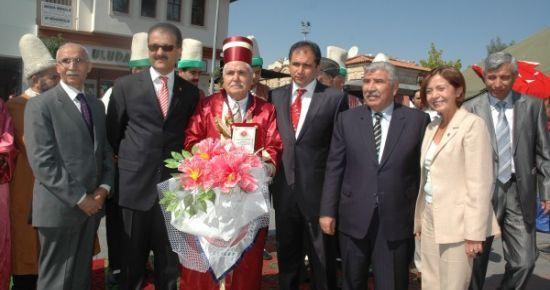 Uşak'ta Ahilik Haftası Kutlamaları Bugün Düzenlenen Tören İle Başladı.