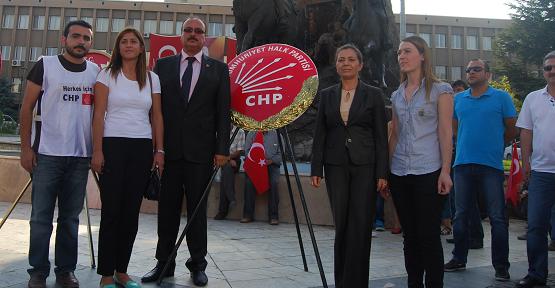 Uşak'ta CHP ve ADD'den Alternatif 30 Ağustos Kutlaması