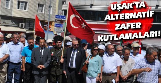 Uşak'ta CHP ve Sivil Toplum Kuruluşlarından Alternatif 30 Ağustos Kutlaması!
