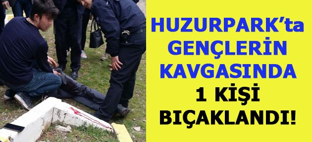 Uşak'ta gençlerin kavgası kanlı bitti! 1 kişi bıçaklandı!