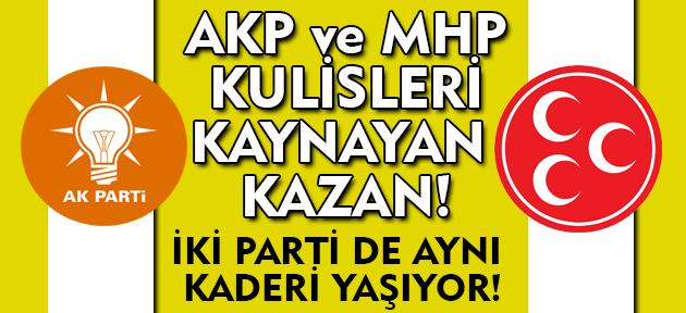 Uşak'ta MHP ve AKP teşkilatları kilit vurmanın eşiğinde. Her iki partide de ciddi problemler var!