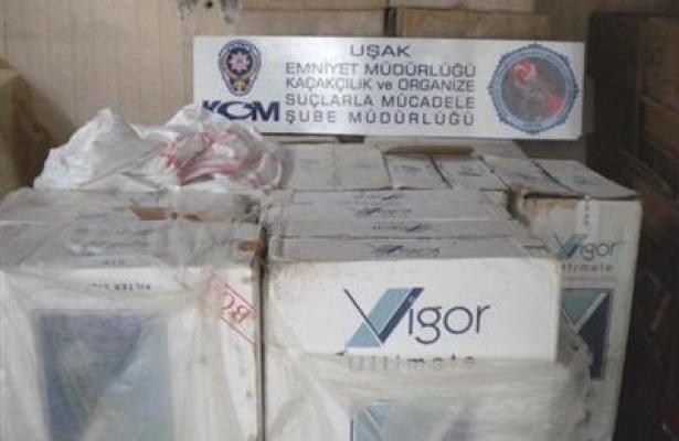 Uşak'ta Yeni Bir Kaçak Sigara ve Uyuşturucu Operasyonu Daha!