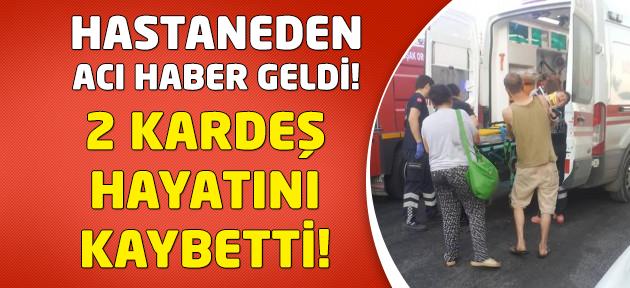 Uşak'taki kazada 2 kardeş hayatını kaybetti!