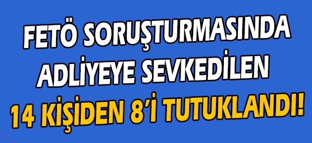 Uşak'taki paralel soruşturmada 8 kişi daha tutuklandı!
