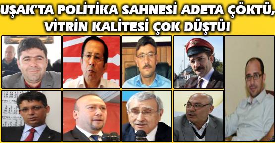 Uşak'taki Tüm Partiler Adeta Dağılma Sürecine Girdi, Demokrasi Tiyatrosunu Halk Artık Umursamıyor!