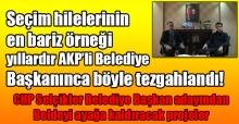 Mevcut AKP'li başkanın seçim hilelerine ilişkin CHP Selçikler Belediye Başkanı Adayından çarpıcı iddialar