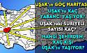 Uşak'ta kaç Suriyeli, kaç yabancı yaşıyor? Hangi ilden kaç kişi Uşak'a göç etti?
