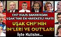 CHP mi; yoksa yeni (çakma) CHP mi Uşak ya da Türkiye'nin geleceğini belirleyecek?