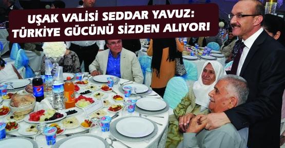 Vali Yavuz, Şehit ve Gazi Aileleriyle İftarda Buluştu!