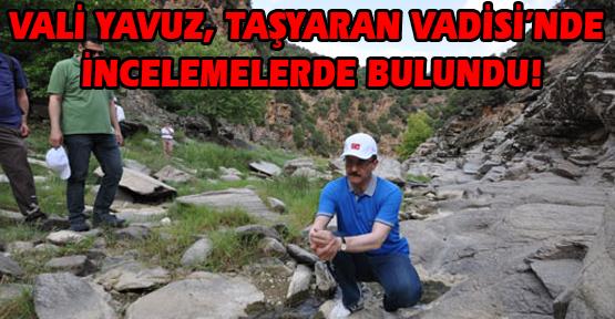 Vali Yavuz: Taşyaran Vadisi Doğa Turizminde Uşak'ın Yeni Bir Başlangıç Noktası Olacak!