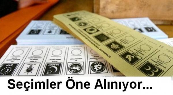 Yerel Seçimler Öne Alınıyor. Cumhurbaşkanlığı ve Belediye Seçimleri Ne Zaman Hangi Tarihte Yapılacak.