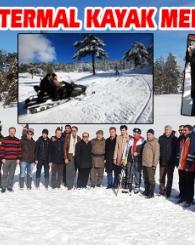 Gediz Murat Dağı Termal Kayak Merkezi Kış Sezonu Törenle Açıldı!