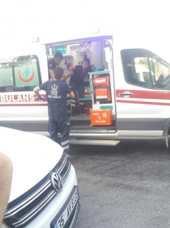 Uşak OSB kavşağında can pazarı! 1 ölü, 17 yaralı!