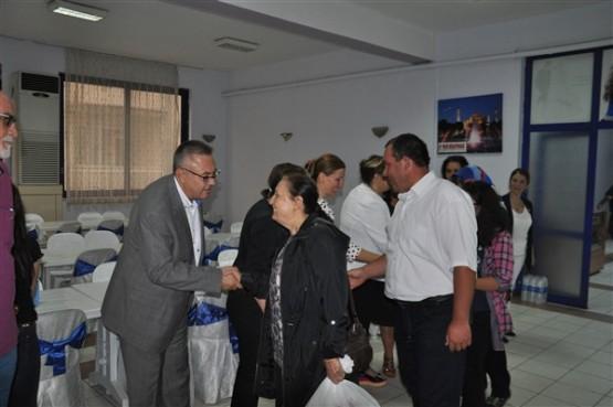 CHP Uşak Teşkilatı mahalle ve köy muhtarları ile iftarda buluştu