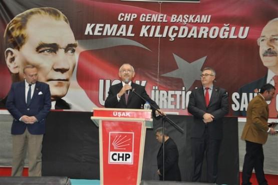 CHP Genel Başkanı Kılıçdaroğlu, Uşak'ta üreticilerle bir araya geldi!