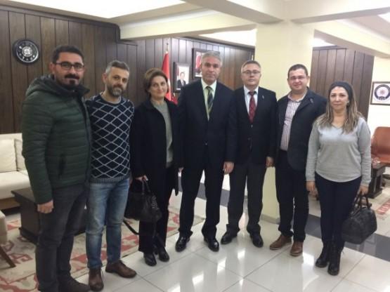 CHP Yönetimi, İl Emniyet Müdürlüğü ziyaretinde teröre karşı birlik ve beraberlik mesajı verdi!