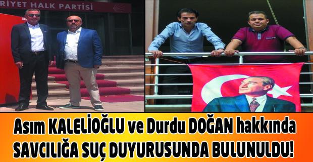 CHP Belediye Başkan Adayı Asım Kalelioğlu'nun ilk icraatı gazetecilere iftira etmek oldu.