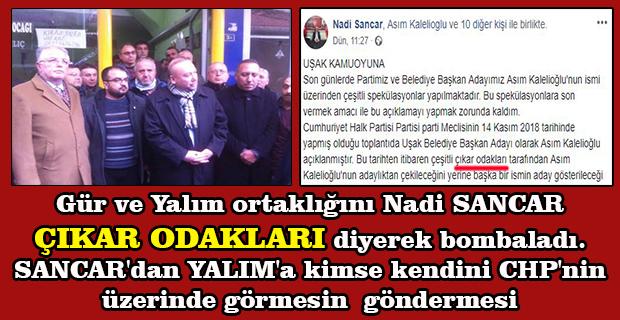 CHP İl Başkanın'dan Milletvekili Yalım ve Aday Adayı Gür'e Veryansın