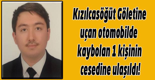 Gölete uçan otomobilde kaybolan Emre Taşkın'ın cesedine ulaşıldı!