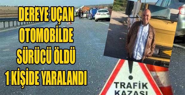 Uşak'ta trafik kazası; 1 Ölü, 1 Yaralı!