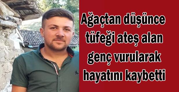 Uşak'ta kendi tüfeği ateş alıp vurulan genç hayatını kaybetti!