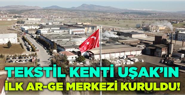 Ağaoğlu, Uşak'ın ilk tekstil Ar-Ge merkezini kurdu!