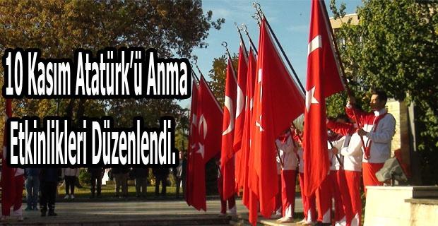 Gazi Mustafa Kemal Atatürk vefatının 81. Yılında Uşak'ta anma etkinlikleri düzenlendi.