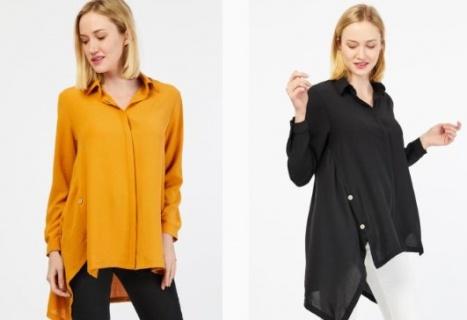 Farklı Kadın Gömlek Modelleri