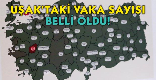 Sağlık Bakanı'nın açıklamasının ardından Uşak'taki vaka sayısı belli oldu!