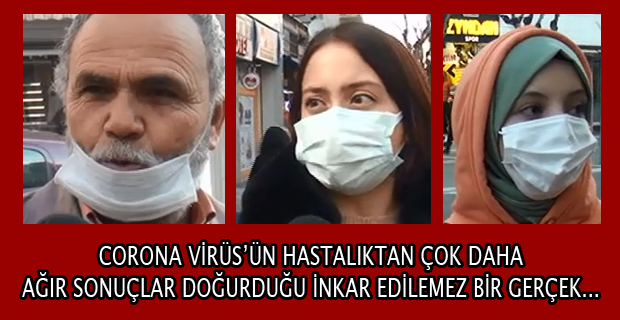Corona Virüsün Bir Hastalıktan Daha Fazlası Olduğunu Maskesi Düşünce Göreceğiz...